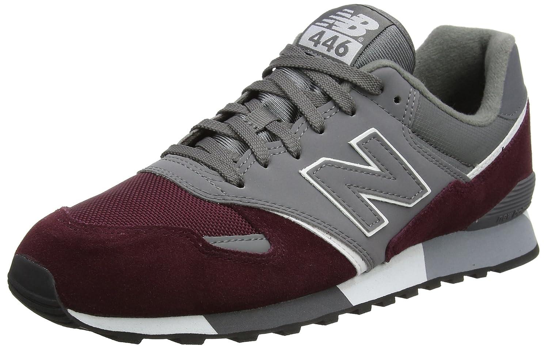New Balance Unisex-Erwachsene U446 Sneaker,  43 EU|Rot (Burgundy/U446bgw)