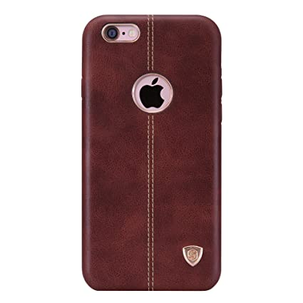 competitive price 8b5ca 0e992 Nillkin Englon Series Leather Back Cover for Apple iPhone 6 (iPhone 6S)  -Brown