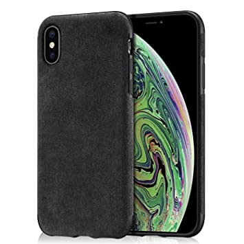 coque alcantara iphone xs