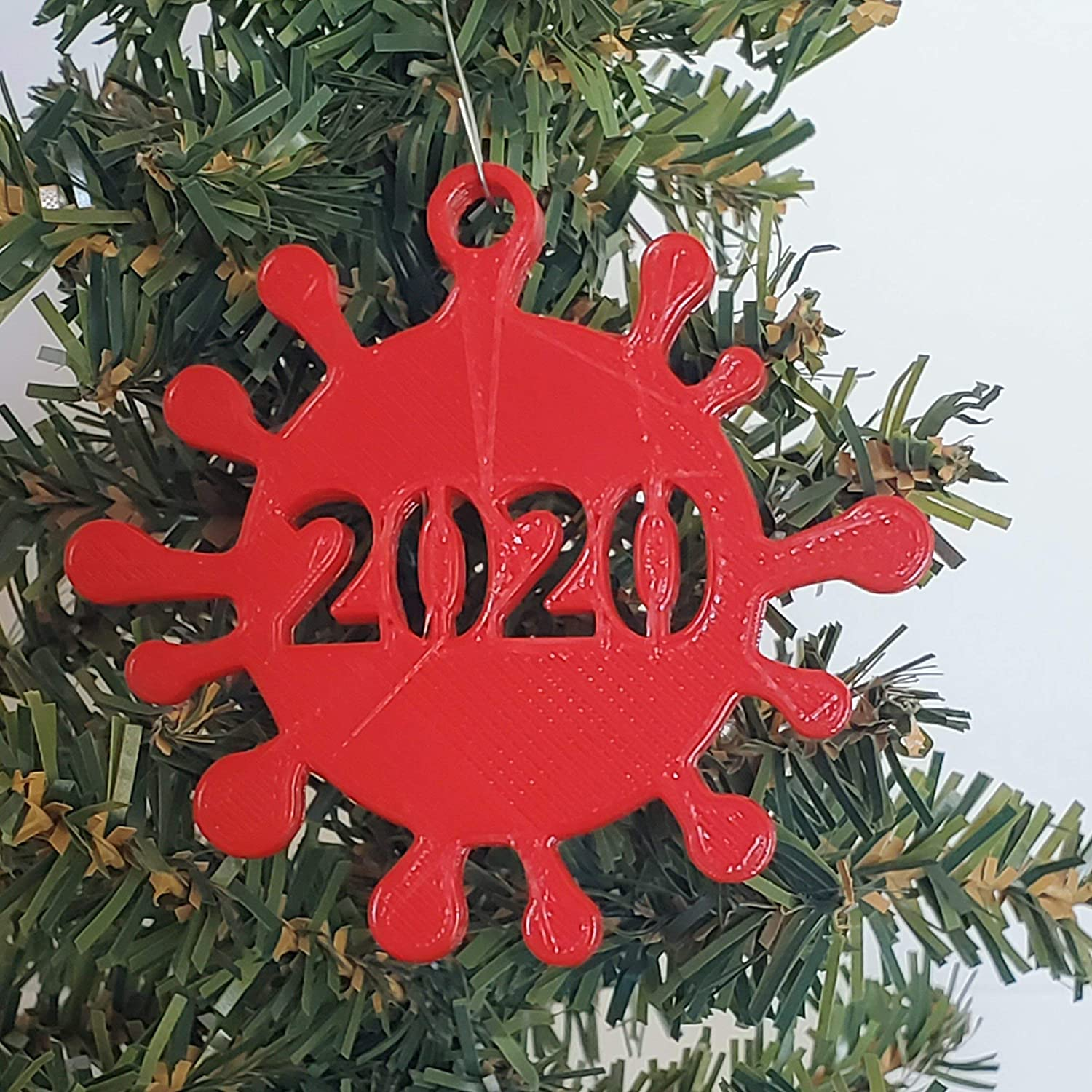 Christmas Ornaments 2020 Series Amazon.com: OR3 2020 COVID Christmas Ornament Keepsake Reminder