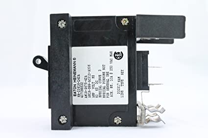 60 Amp Breaker >> Heinemann 60 Amp Dc Double Clip In Circuit Breaker Aka Lmlc1 1rls4