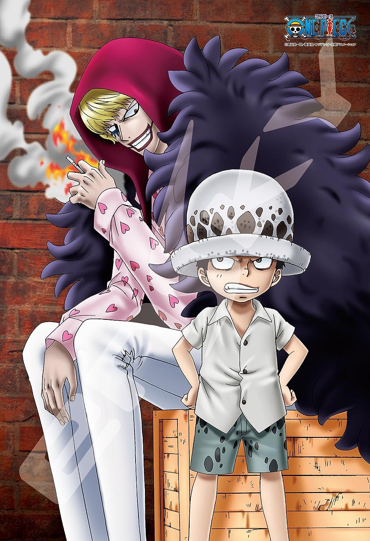 Amazon 300ピース ジグソーパズル One Piece ローとコラさん 26x38cm