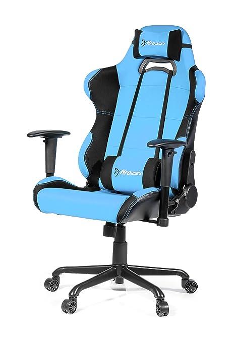 Arozzi Torretta XL - Silla (Asiento Acolchado, Respaldo Acolchado, Azul, Azul,