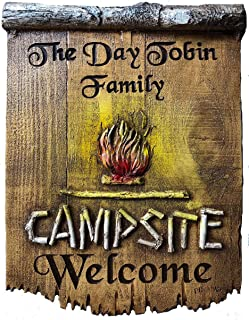 product image for Piazza Pisano Camping Welcome Custom Sign