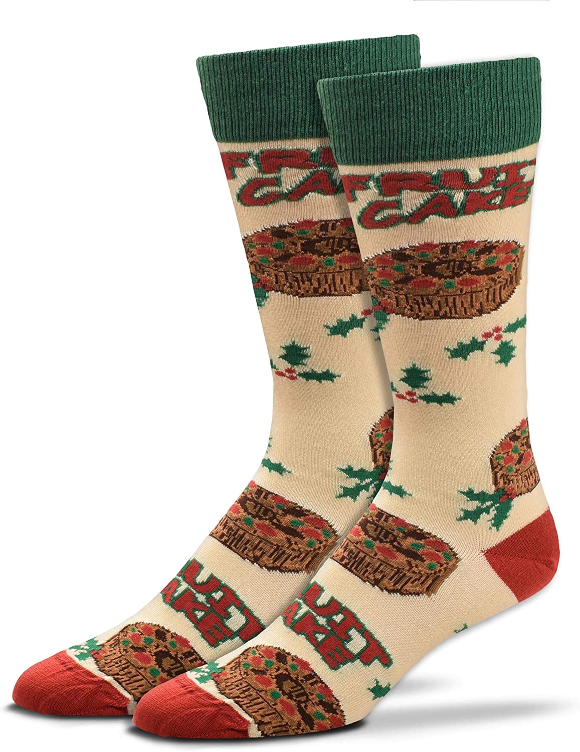 For Bare Feet-Smell My Feet-Mens & Womens Novelty Christmas Holiday Food-Scented Socks- 1 Size Fits Most