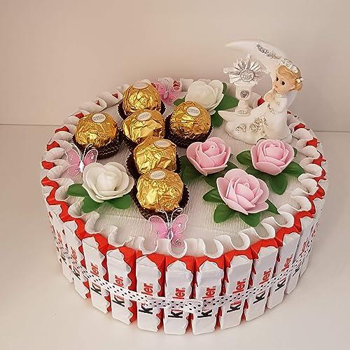 Geschenk Zur Kommunion Konfirmation Kinderschokolade Torte Fur