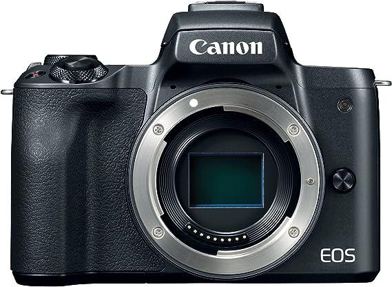 Canon EOS M50 Mirrorless Digital 4K Vlogging Camera with Dual Pixel CMOS Autofocus