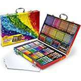 Crayola Inspiration Art Case: 140 Pieces, Deluxe Set with Crayons, Pencils, Markers and Paper in a Portable Storage Case…