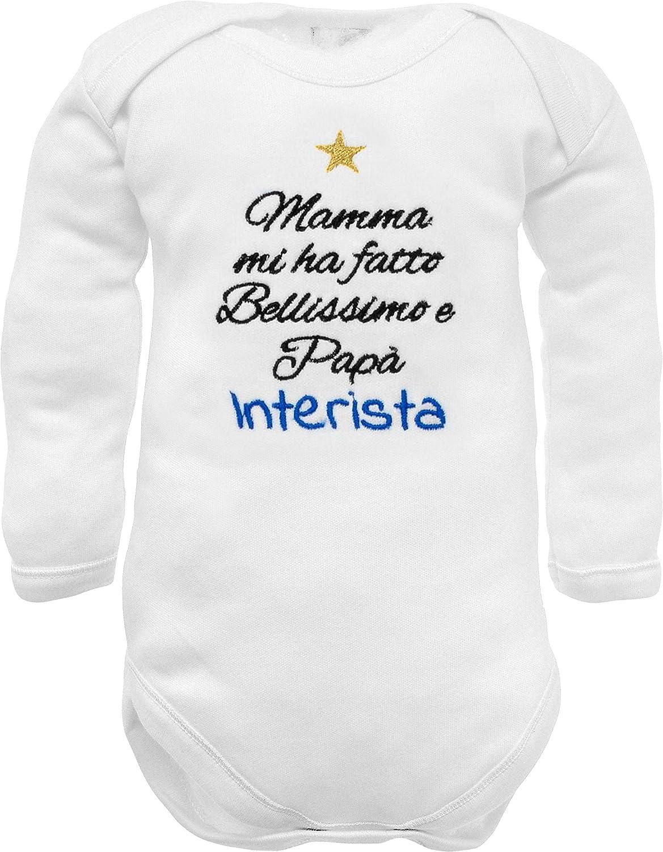 Body Nascita juventino milanista interista Tutina Neonato ...
