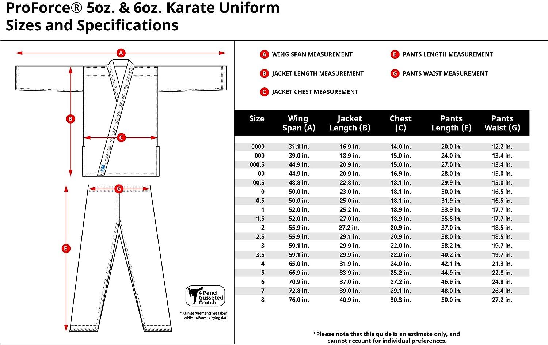 ProForce 5oz Ultra Lightweight Student Uniform