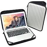 "DURAGADGET Shock-Absorbing, Water-Resistant Memory Foam Laptop Case in Silver for Apple 13-inch MacBook Pro with Retina Display, 13-inch / 13"" MacBook Pro"