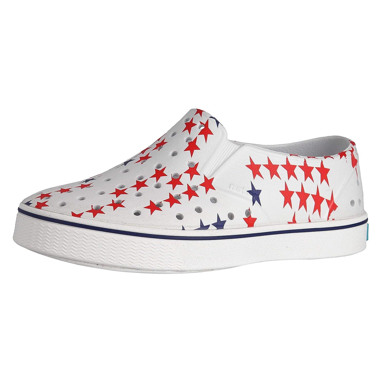 Native Miles Print Slip On Girls Shoes