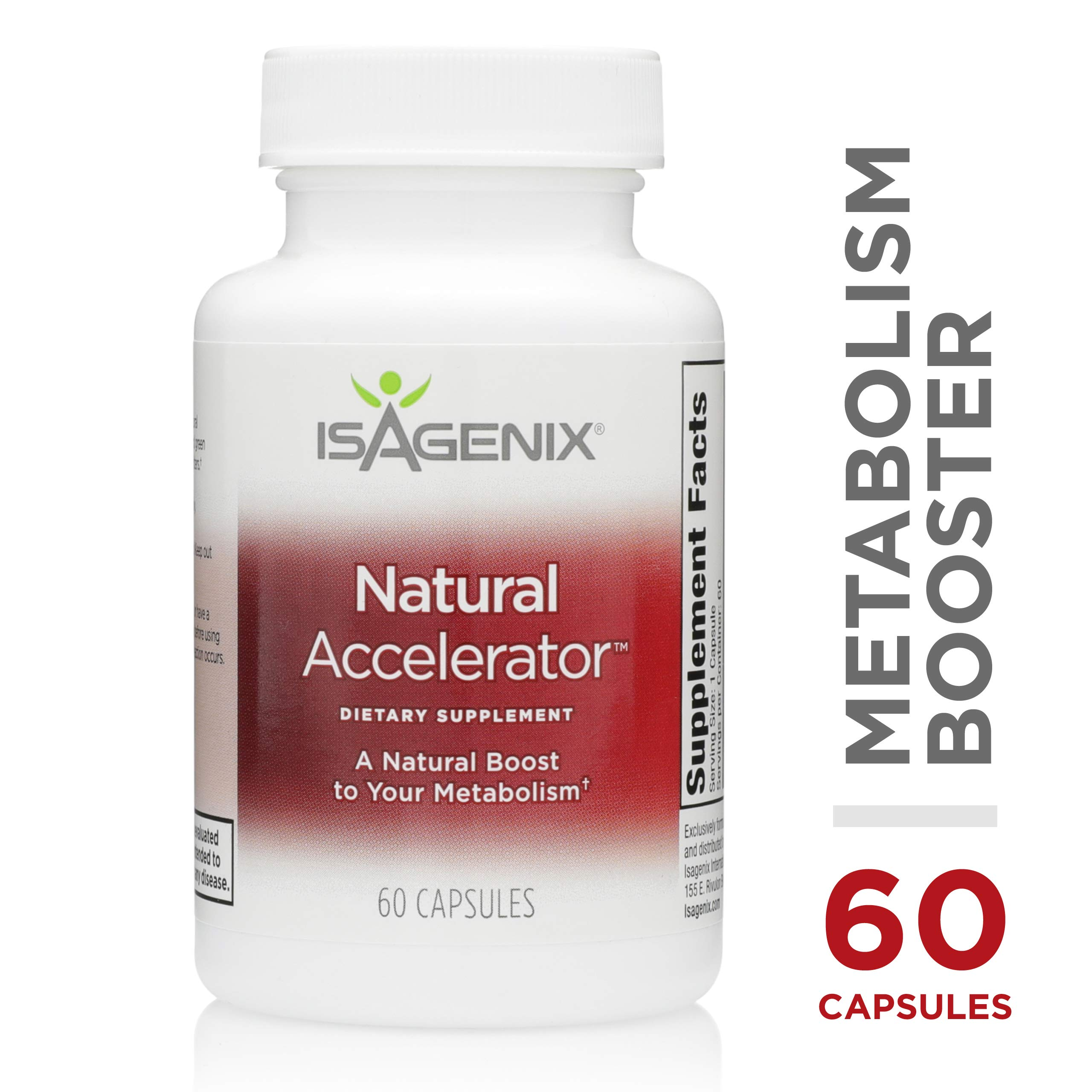 Natural AcceleratorTM - 60 Capsules (60 Servings) by Isagenix