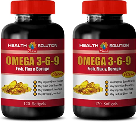 Amazon Com Heart Health Dietary Supplement Omega 3 6 9 Fish
