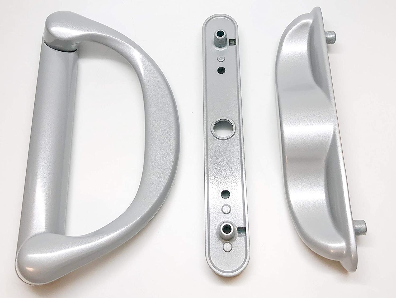 Amazon.com SBML Involute Sliding Patio Door Handle Set (Silver) Home Improvement  sc 1 st  Amazon.com & Amazon.com: SBML Involute Sliding Patio Door Handle Set (Silver ...