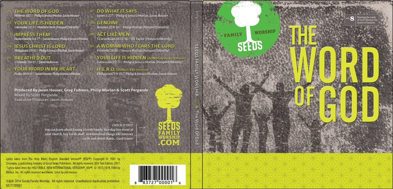 Seeds Family Worship: The Word of God,  Vol. 8