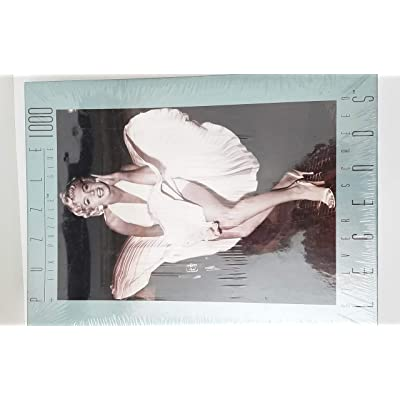 Silver Screen Legends: Blonde Bombshell (Marilyn Monroe) 1000-pc Puzzle: Toys & Games