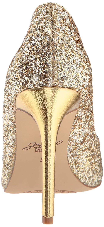 Badgley Mischka Jewel Women's Malta Pump B0786TQYQ2 5.5 B(M) US|Silver/Gold