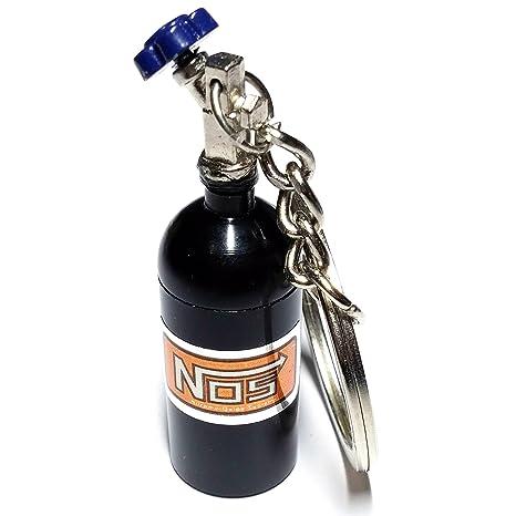 Cameleon-Shop Llavero Plástico Botella Nitro NOS Negro ...