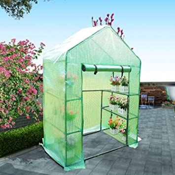 Panana Compact Walk-in 3 Tier 6 Shelves Greenhouse with Cover ... on small sauna designs, small hotel designs, small floral designs, small flowers designs, small bell tower designs, small boathouse designs, small green roof designs, small spring designs, small science designs, small greenhouses for backyards, small industrial building designs, small carport designs, small pre-built homes, small gazebo designs, glass greenhouses designs, small glass designs, small boat slip designs, small garden designs, small business designs, small wood designs,