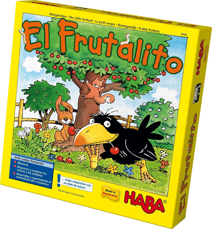 HABA Frutalito-ESP (4996): Amazon.es: Juguetes y juegos