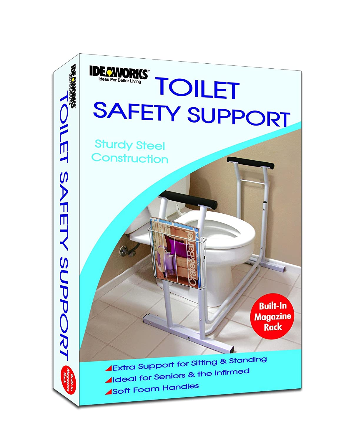JIIRET4349 - Deluxe Safety Toilet Support, 29-1/2 x 19 x 26-1/4