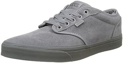 9b097f7c08da Vans Men s Atwood Low-Top Sneakers Blue  Amazon.co.uk  Shoes   Bags