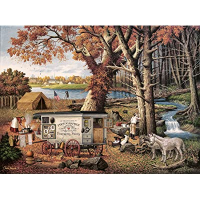 Buffalo Games - Charles Wysocki - Memory Maker - 1000 Piece Jigsaw Puzzle: Toys & Games
