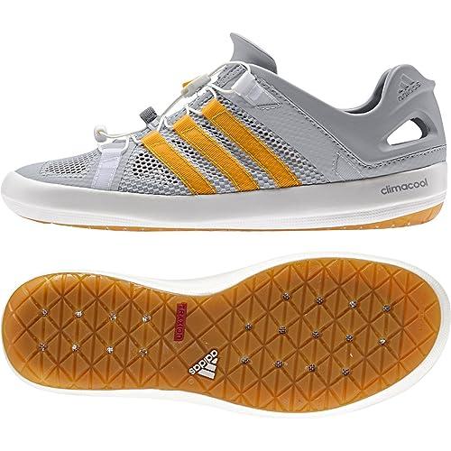 c1446107c5f4 ... closeout adidas climacool boat breeze shoe mens clear onix lucky orange  mid grey 11 dfb78 3de62 ...