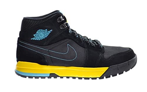 99e8eadfdc446 Amazon.com | Jordan Air 1 Trek Men's Boots Black/Gamma Blue-Varsity ...