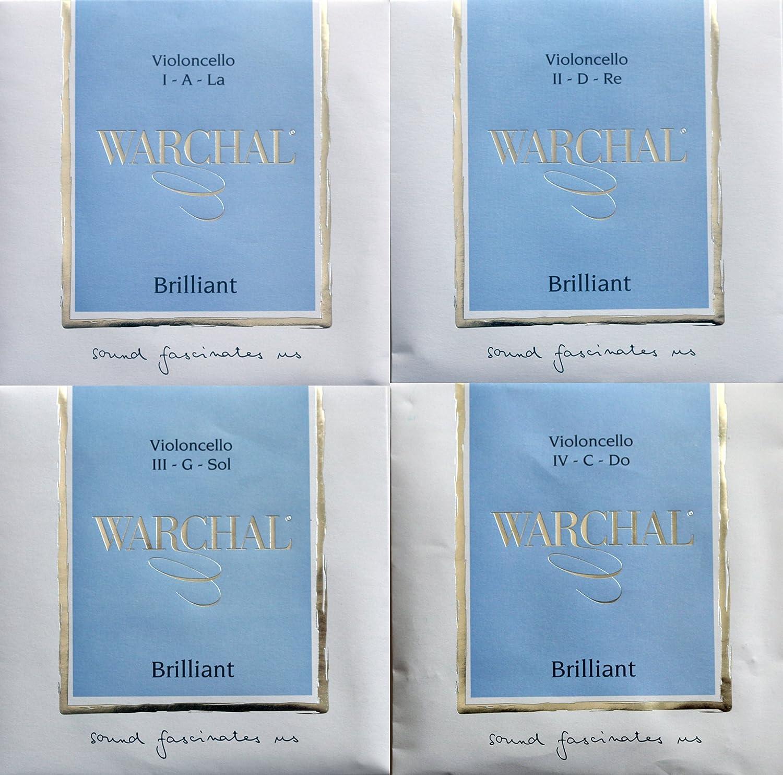 Warchal Brilliant ワーシャル ブリリアント チェロ弦 セット 920 シンセティック【国内正規品】   B07F1PQ3SF