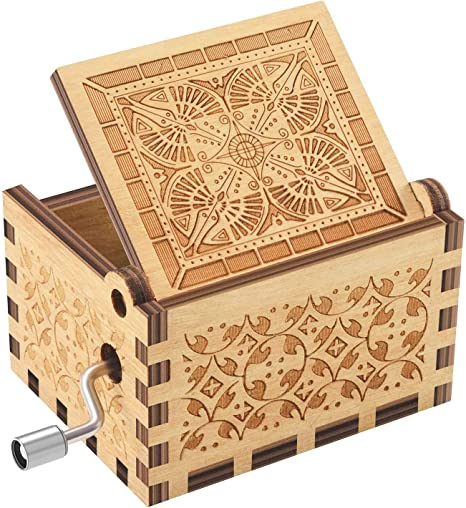 Cajas de música de madera | Tema musical You are my sunshine canción Tune | grabado láser clásico de madera Sunshine caja musical regalos para cumpleaños/Navidad/Día de San Valentín: Amazon.es: Hogar