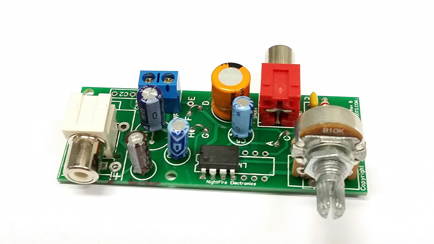 Audio Amplifier Lm380n 8 Kit 5322 Electronics Lm380 Power Circuit
