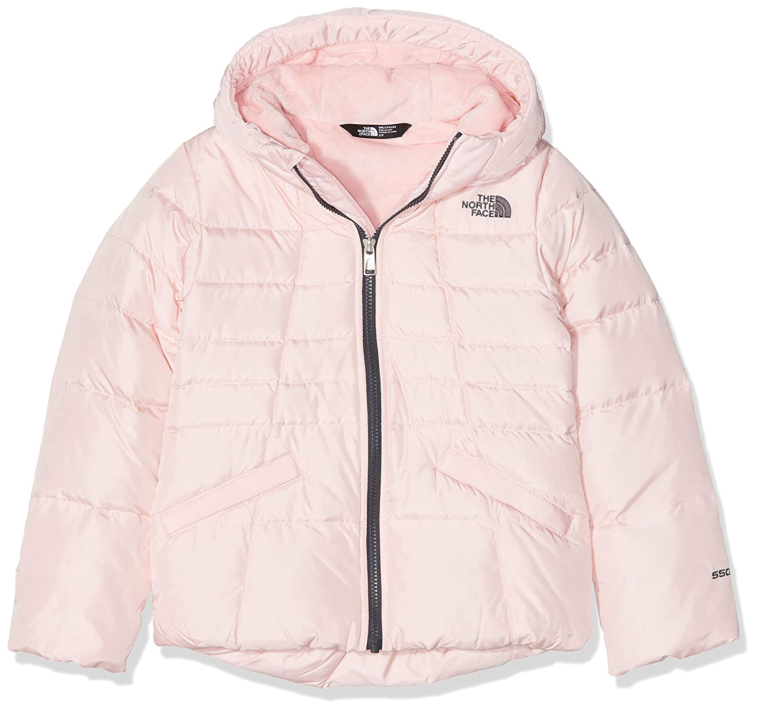 THE NORTH FACE Moondoggy 2.0 Veste à Capuche Fille, Purdy rose, FR   S (Taille Fabricant   S)