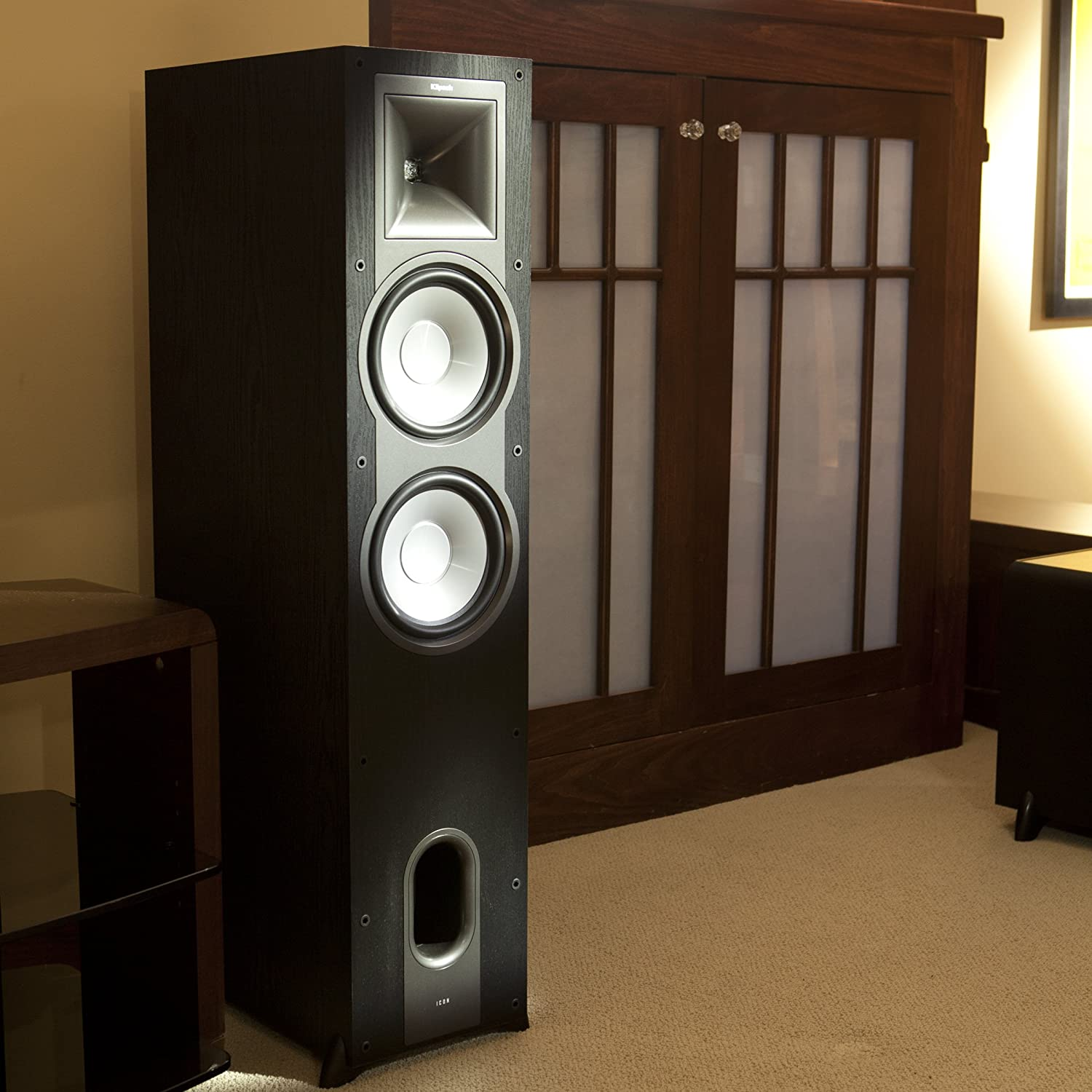 Klipsch KF-28 Icon Dual 8-Inch Floor Standing Speakers