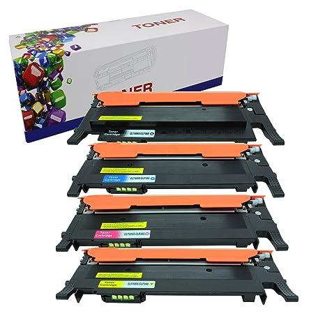 4PK CLT406S Color Toner For Samsung CLP-365W CLX-3305FW C410W  C460FW Printers
