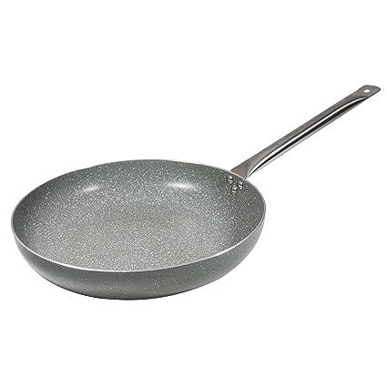 Bergner Masterpro Prochef Visanni Sartén, Aluminio, Gris, 32 cm