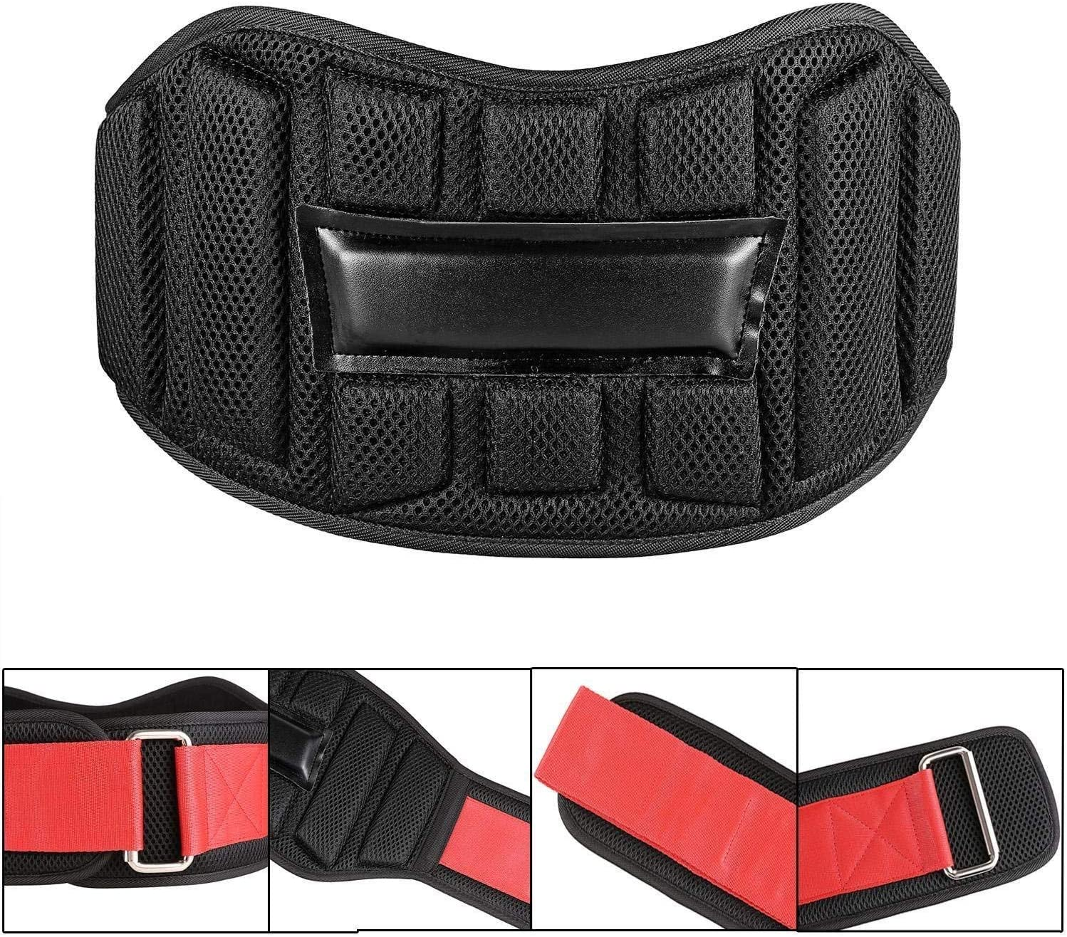 wilem Weight Lifting Belt for Men and Women, Comfortable Durable Genuine Leather – Great Lower Back Lumbar Support for Squats, Deadlifts, Gym Workouts
