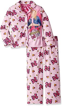 99edb43e5 Amazon.com  Nickelodeon Girls  Jojo 2-piece Pajama Set  Clothing