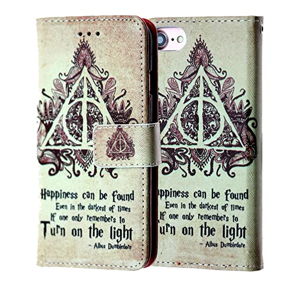 pretty nice d916b 653ec Harry Potter iPhone 6s Wallet Case, IMAGITOUCH Folio Flip PU Leather Wallet  Case with Kickstand Wrist strap and Card Slots for iphone 6 / 6s (4.7