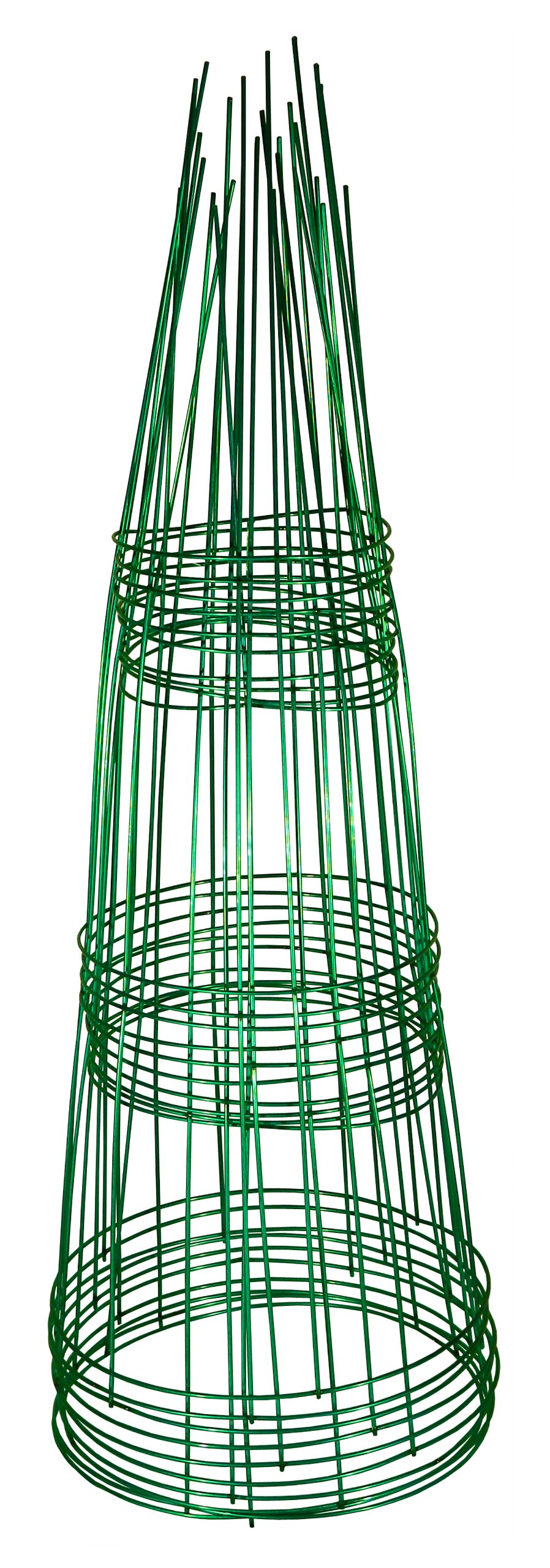 Glamos 220500 10-Pack Blazing Gemz Plant Support, 12 by 33-Inch, Emerald Green (Discontinued by Manufacturer)