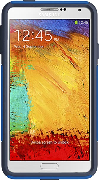 huge discount 9105a 31dc7 OtterBox Commuter Series Case for Samsung Galaxy Note 3 - Retail Packaging  - Blue/Navy