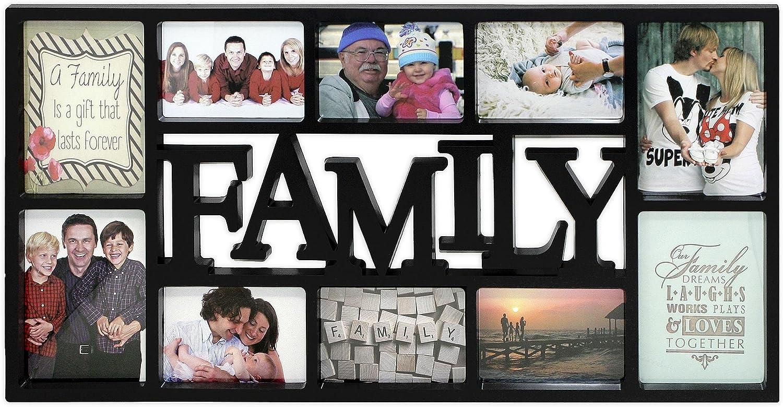 Close Up Portaretratos Tamaño XL - Family/Familia [Negro] (73cm x ...