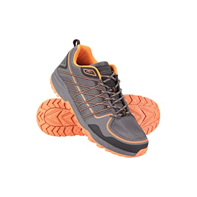 Mountain Warehouse Track Mens Trainers - Lightweight Walking Shoes | Hiking Shoes
