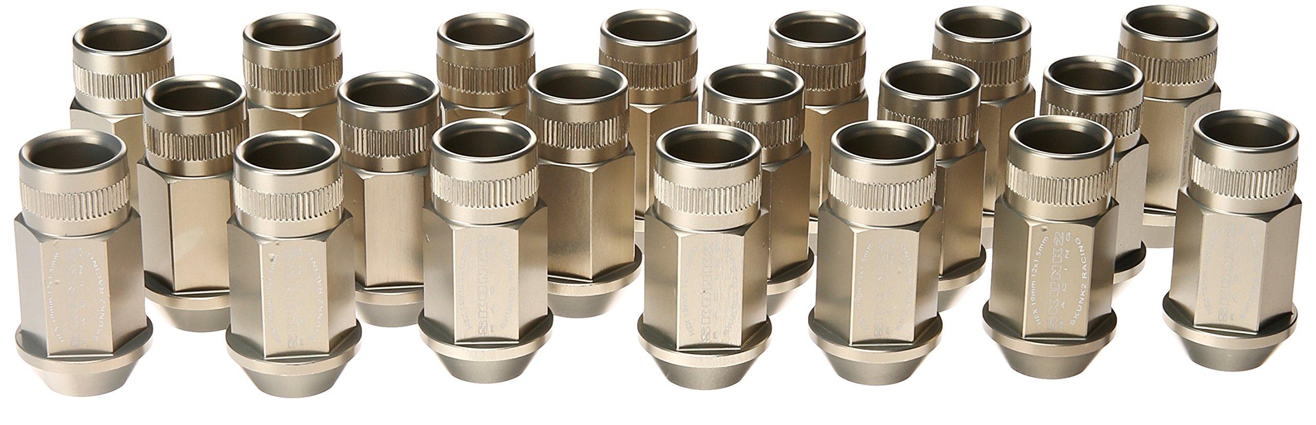 Skunk2 (520-99-0845) Hard Anodized 12mm x 1.5mm Forged Lug Nut Set