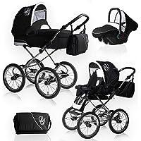 Bebebi Loving   3 in 1 passeggino con carrozzina modulari combinabili set completo   Nostalgie Passeggini compatti per bambini