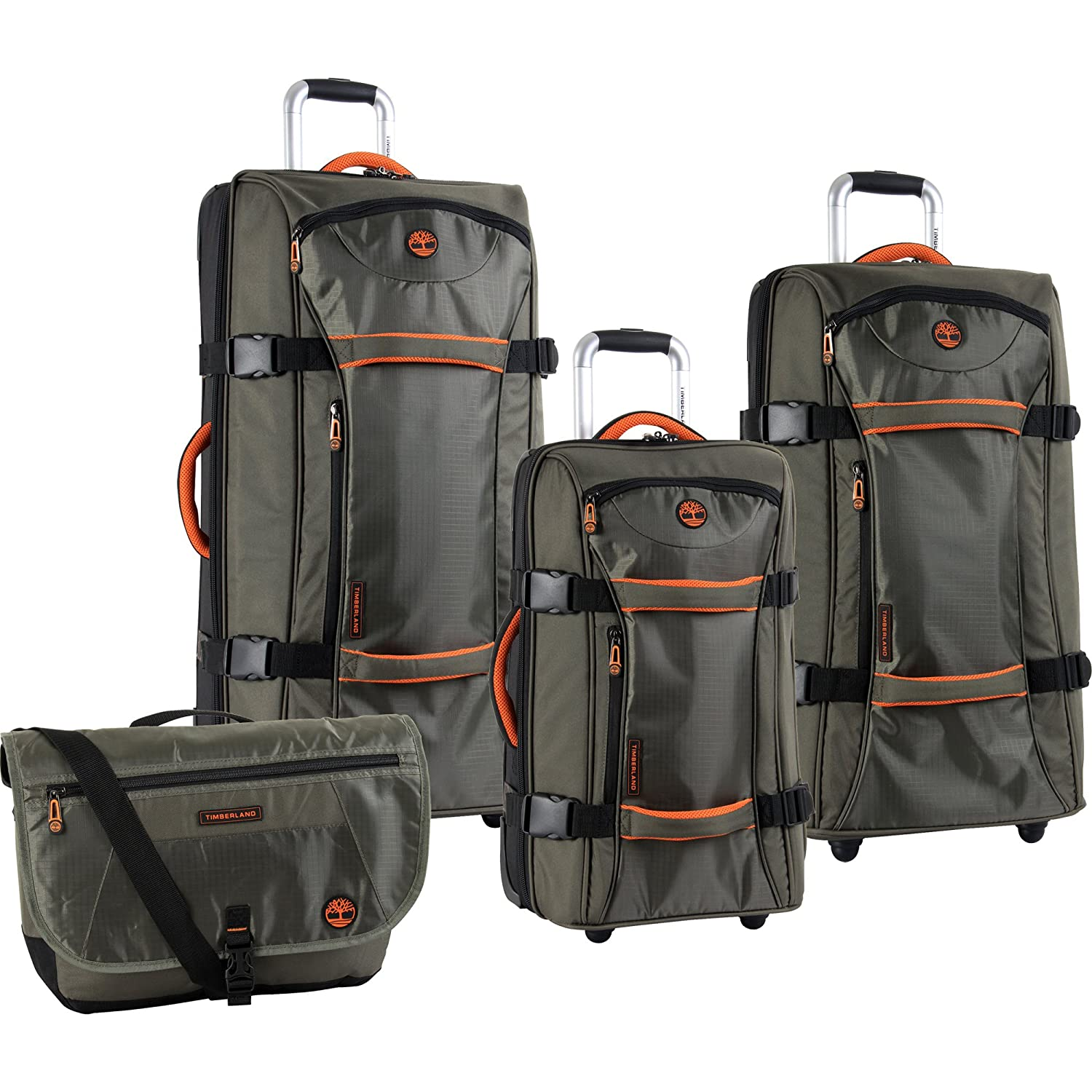2523b40948 Amazon.com | Timberland Luggage Claremont Three Piece Duffle Set ...