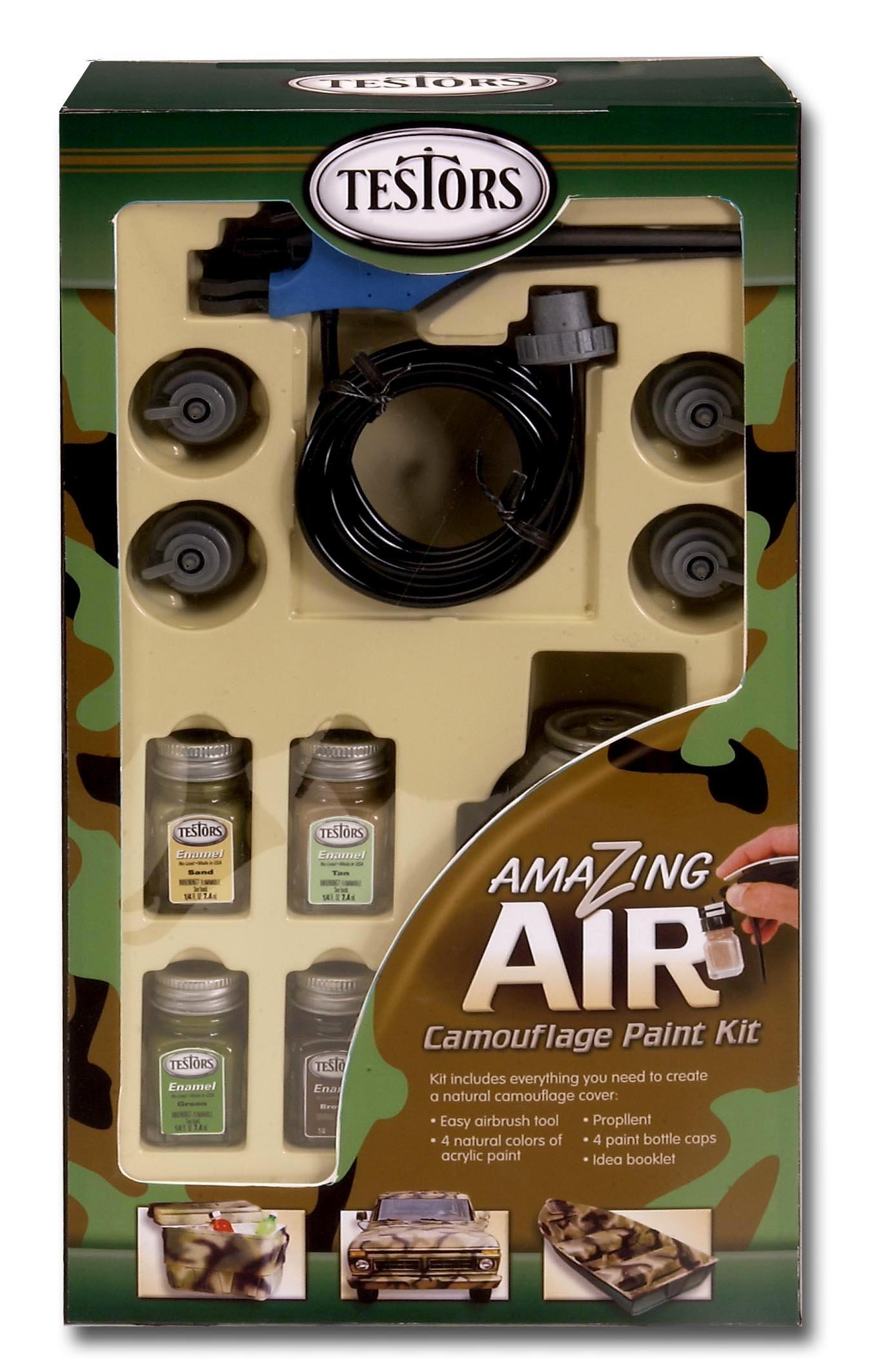 Testors Camouflage Airbrush Set (4034)