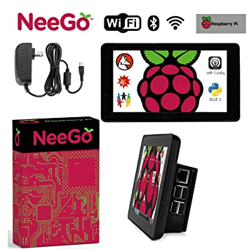 Amazon.com: Raspberry Pi 3 Conjunto de Display Kit incluye 7 ...