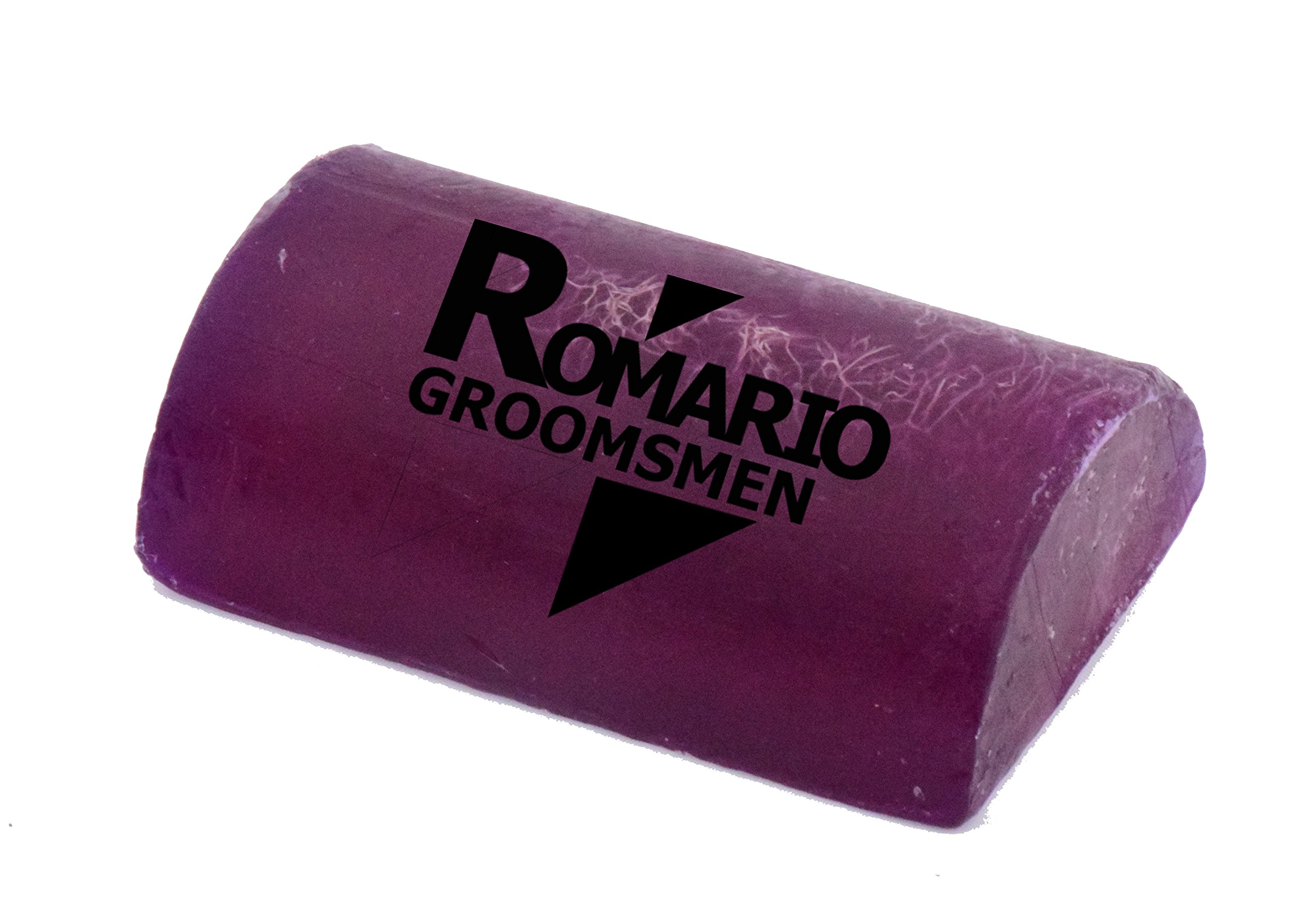 Romario Groomsmen - Luffa Soap Bar Exfoliant to clean dark spots Body Scrub Soap Whitening Dirt Remover with Super Fruit Natural Ingredient and Honey